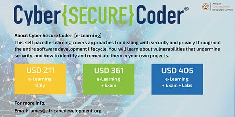 Cyber Secure Coder - Online Learning tickets