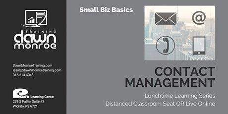 Contact Management for Small Business Owners tickets