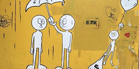 (Visite privée à distance) BUTTE MONTMARTRE - BALADE STREET-ART EN FAMILLE OU ENTRE AMIS billets