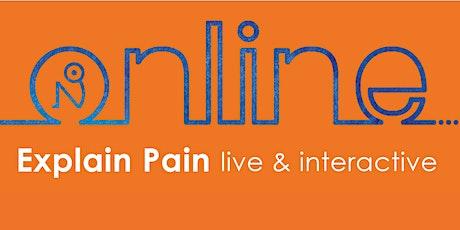 Explain Pain Online tickets