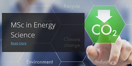 Energy Science Webinar Trinity College Dublin tickets