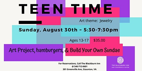 TEEN TIME! tickets