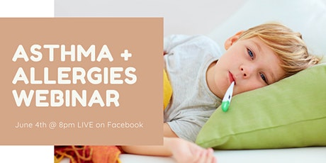 Asthma and Allergies Webinar billets