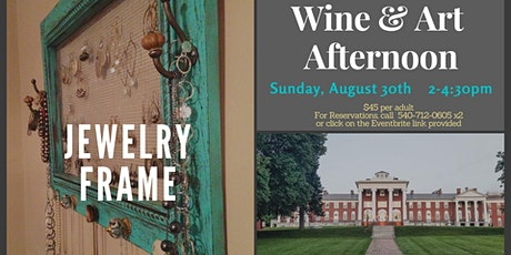 Wine & Art in the Penthouse - Jewelry Frame tickets