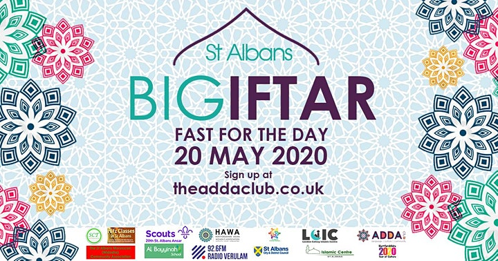 The St Albans Big Iftar  fast for the day image