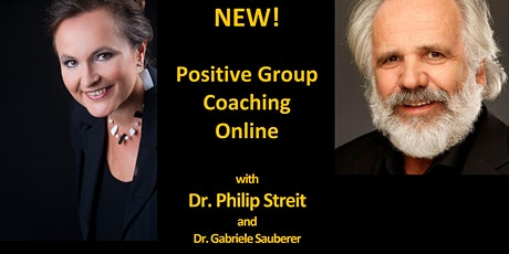NEW!  Positive Group Coaching Online - 12 Coachings for 97 EUR tickets