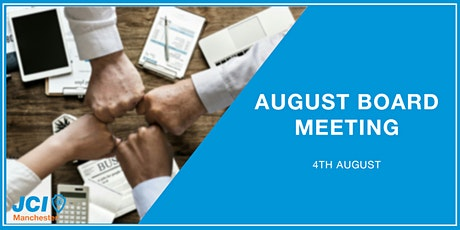 August Board Meeting Tickets