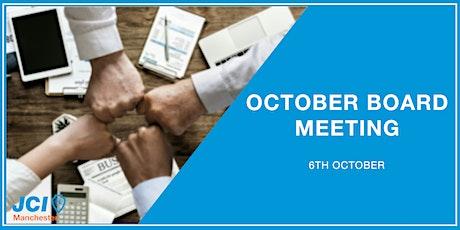 October Board Meeting Tickets