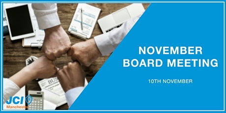 November Board Meeting Tickets