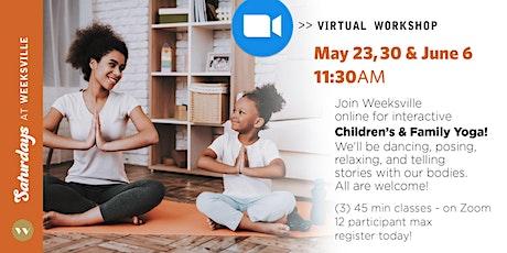 Saturdays at Weeksville: Children's & Family Yoga tickets