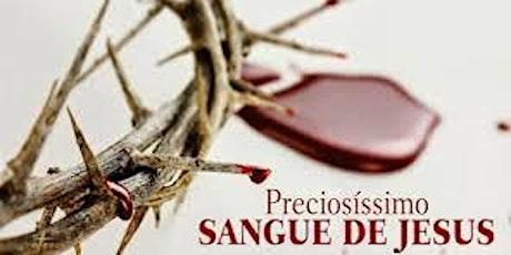 Campanha do Preciosissimo Sangue de Jesus ingressos