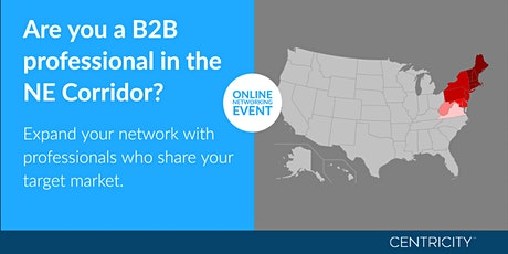 Online Business Networking for B2B Professionals  | Northeast Region tickets