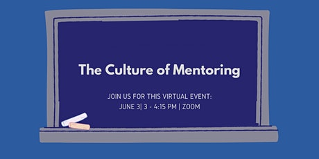 The Culture of Mentoring tickets