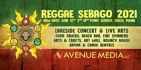 Reggae Sebago 2021 -  A lakeside arts and music concert tickets