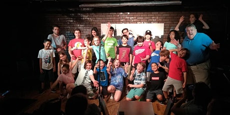 ONLINE COMEDY CAMP for KIDS 8-12yos - EAST COAST/ NYC Schedule tickets