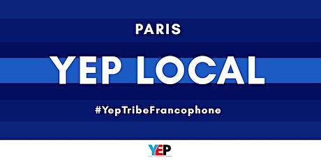 YEP LOCAL Paris : l'entrepreneuriat au féminin biglietti