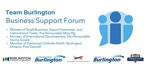 COVID-19 Business Support Forum with the Minister of Small Business tickets