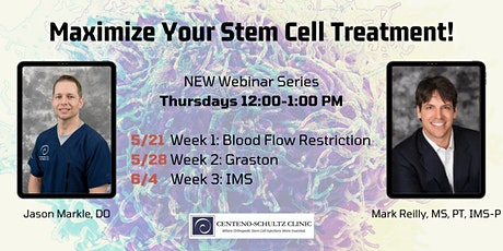 Maximize Your Stem Cell Treatment! Week 2: Graston tickets
