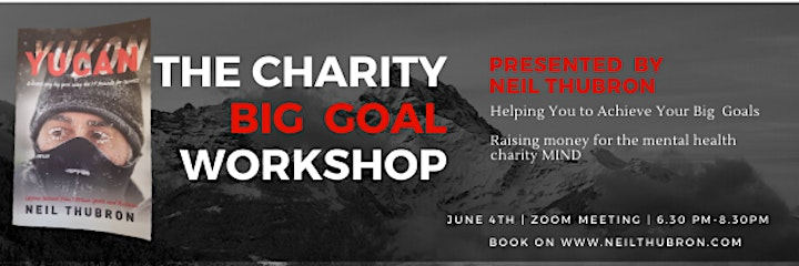 Charity Big Goal Workshop  - by Neil Thubron image