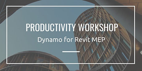 Productivity Workshop: Dynamo for Revit MEP entradas