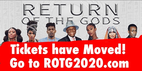 Return of The Gods 2020 tickets