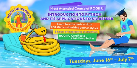 2020 Summer Python Course tickets