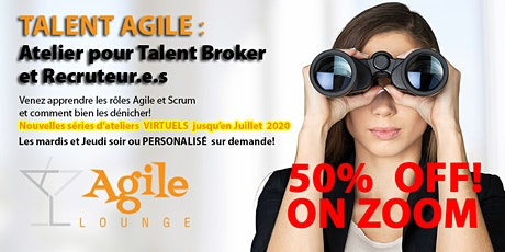 Atelier TALENT Agile™ Workshop - VIRTUEL ZOOM OFFERT! billets