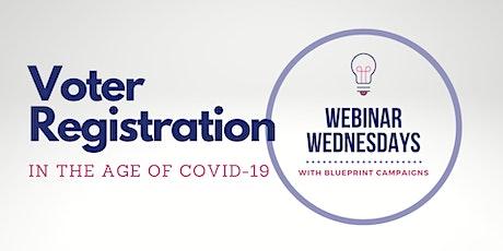 Webinar Wednesdays:  Voter Registration tickets