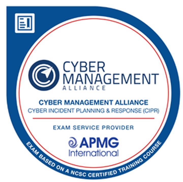 Certified Cyber Incident Planning and Response - Cybersecurity Course image