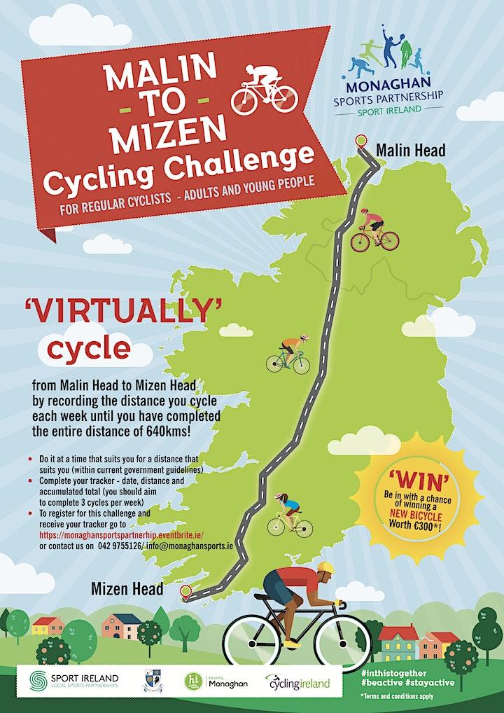 Malin to Mizen Cycling Challenge (640kms) virtual image