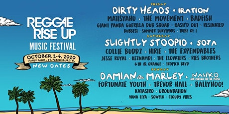 Reggae Rise Up Florida Music Festival 2020 tickets