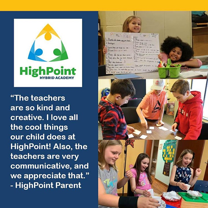 Learn about HighPoint Hybrid K-8 in Clinton Township - May 18 image