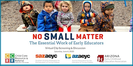 No Small Matter: The Essential Work of Early Educators tickets