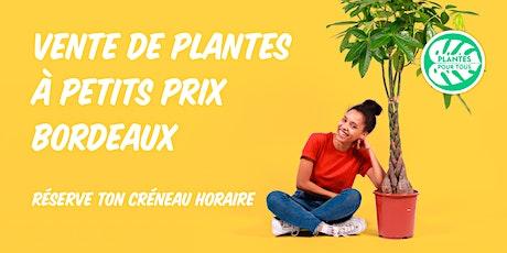 Vente de Plantes à petits prix - Bordeaux billets