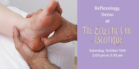 Reflexology Demo by Kat tickets