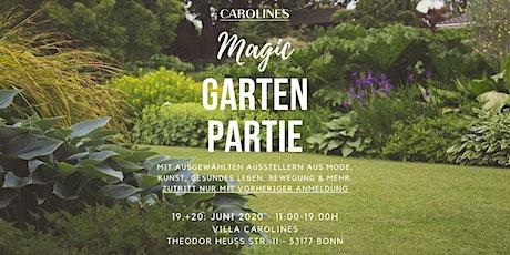 Magic Garten Partie am 19. + 20.06.2020 Tickets