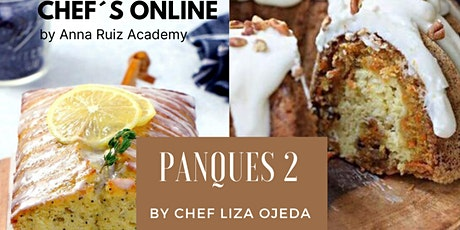 Panques 2 con la Chef Liza Ojeda  boletos
