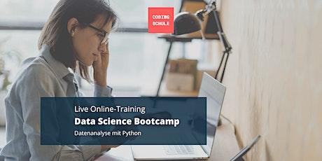 Data Science Bootcamp / Datenanalyse mit Python tickets