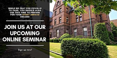 Study at Gannon University, USA - FREE Online Seminar tickets