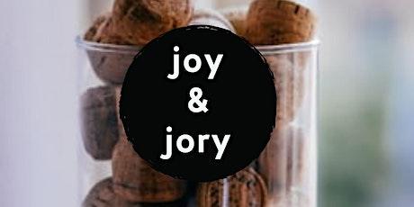 Joy & Jory:  Wine. Cheese.  Stories. tickets