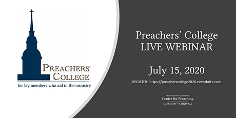 Preachers' College July 15, 2020 tickets
