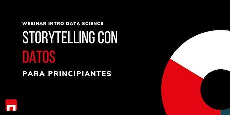 Storytelling con Datos  para Principiantes : Data Science entradas