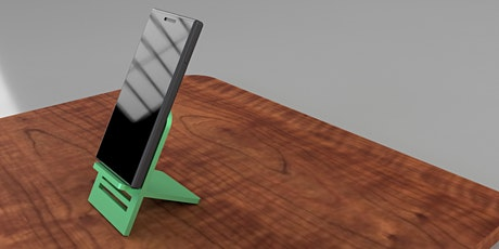 Product Design in Fusion 360 - Phone Stand tickets