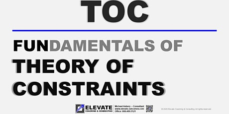 Fundamentals of Theory of Constraints -- Live Online Training tickets
