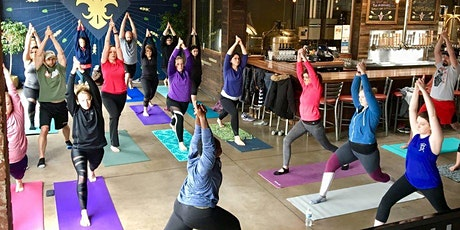 Yoga + Beer (At Home) with Charleville Brewing Company tickets