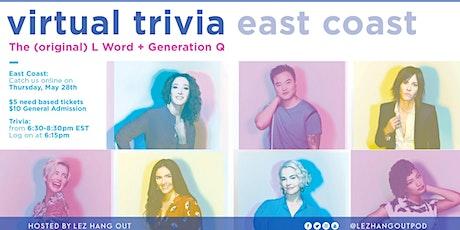 L Word and Generation Q Virtual Trivia tickets