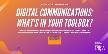 June 3 Zoom Event: Digital Communications: What's in  Your Toolbox? tickets
