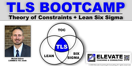 TLS Bootcamp (Theory of Constraints + Lean Six Sigma) -Live Online Training tickets
