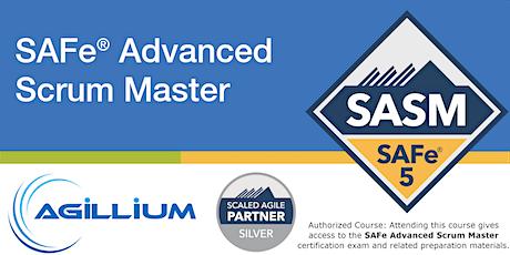 SAFe® Advanced Scrum Master w/SAFe® 5 Advanced Scrum Master Certification -June 20-LIVE REMOTE biglietti