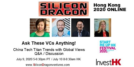 Silicon Dragon Hong Kong Online Forum 2020 tickets